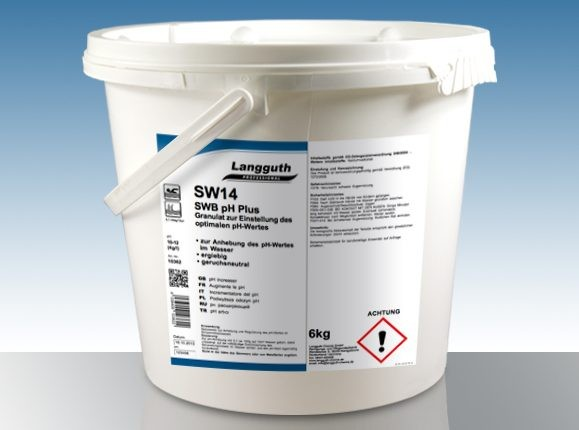 Granulat zur Einstellung des optimalen pH-Wertes SW14 SWB pH Plus
