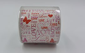 Designer Toiletten Papier Motiv: All You need is Love